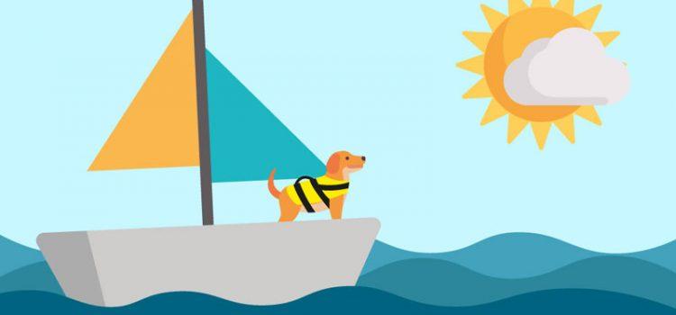 Tag hunden med til søs