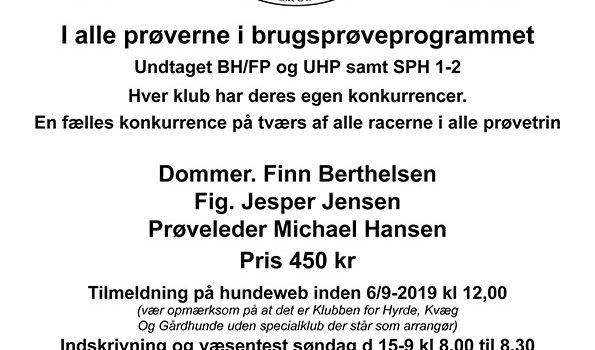 DM 2019 – BEMÆRK! Ny tilmeldingsfrist!